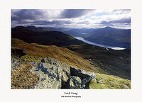 The Brack The Cobbler Loch Long Loch Lomond and Ben Lomond from Cnoc Coinnich