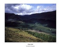 Glen Doll from the slopes of Dreish