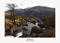 The Buchan Burn and Mulldonoch Glen Trool Galloway Forest Park