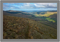 L1012005 Capel Fell and Moffat Dale from Bodesbeck Law