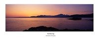 The Cuillin from Tarskavaig Skye