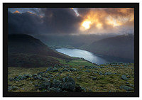 46E7230 Daybreak on Wastwater from Middle Fell