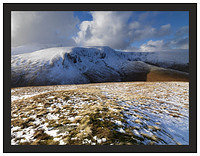 A 01178 Blencathra Bannerdale Crags and Bowscale Fell from Souther Fell