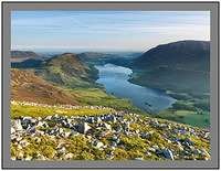 A 09633 Early morning light on Crummock Waater from Dodd