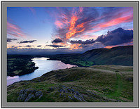 A 09709 Dawn over Ullswater from Hallin Fell