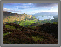 A 3260 Derwent Water from KIngs How