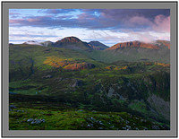 A 5182 Daybreak on Great Gable Scafell and Kirk Fell