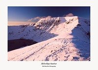 Sunrise on Helvellyn from Catseye Cam
