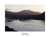 DSF1143 First light on Blencathra across Derwent Water from Cat Bells