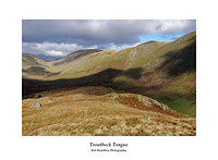 DSF2072 Threshthwaite Mouth Thornthwaite Beacon Froswick and Ill Bell from Troutbeck Tongue