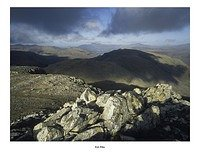 Glaramara from Esk Pike