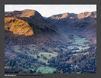 O126475 Daybreak on St Sunday Crag and Grisedale