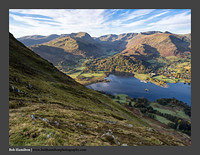 O126547 Patterdale Glenridding and the Helvellyn Massif from Grey Crag