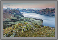 S2015279 Dawn over Ullswater and the Helvellyn Massif from Hallin Fell