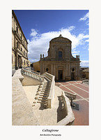 Sicily-Caltagirone-Church of Santa Maria del Monte