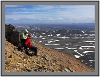 A 3881 Walkers on Hlidarfjall