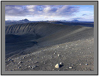 A 4016 Hlidarfjall Krafla and Gaesafjoll over the crater rim of Hverfjall