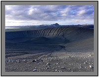 A 4019 Hlidarfjall and Krafla over the crater rim of Hverfjall