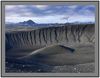 A 4040 Myvatn over the crater rim of Hverfjall
