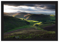 August 2008-Culter Fell Southern Uplands South Lanarkshire Scotland.
