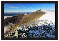 November 2008-Skiddaw Northern Cumbrian Fells Cumbria England.