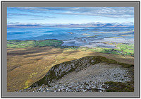 S2012426 Clew Bay and the Nephin Beg Mountains from Croagh Patrick