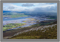 S2012444 Storm over Clew Bay and Westport from Croagh Patrick
