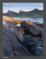 O122342 Senja evening at Tungeneset