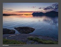 O122551 Senja Hamn at 1 in the morning