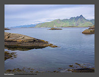 O122588 Lofoten early morning  Mortsund