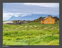 O123416 Lofoten lonely house Hov