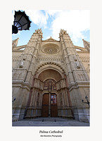 Palma Cathedral-main door