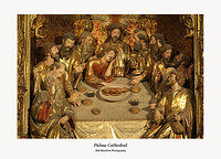 Palma Cathedral-depiction of last supper