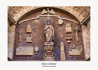 Palma Cathedral-main door detail