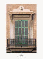 Palma-Placa de Sant Francesc-window and balcony