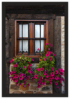 46E6714 Window and flowers-Potes