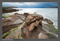 S3030262 The Old Red Sandstone Beach at Sheriff's Point Great Cumbrae Island