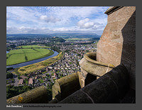 O125346 Stirling from the Wallace Monument