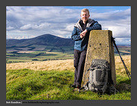O126175 Self Portrait on Lamington Hill-If you see me in the hills stop and have a chat