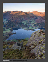 O126434 Daybreak on Glenridding and the Helvellyn range from Place Fell