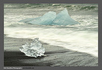 M3062532 Crystal and Blue Jokulsarlon Beach