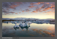 M3062667 Jokulsarlon Sunset