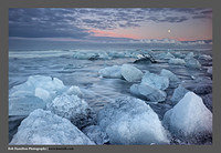 M3062712 Jokulsarlon Sunset