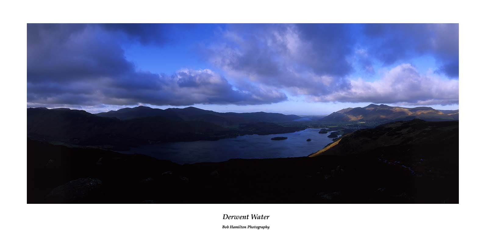 Derwent Water from High Seat