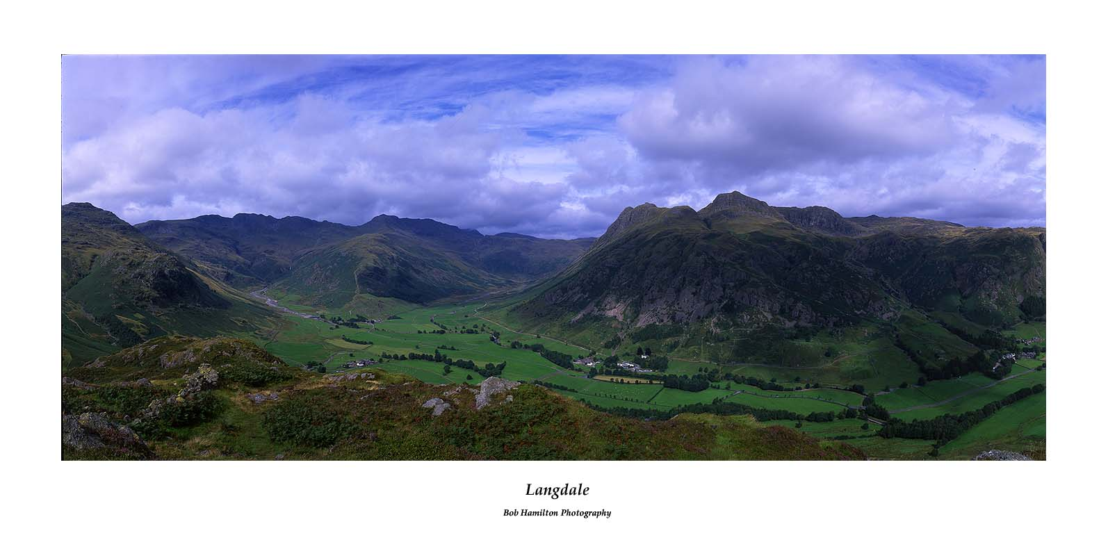 Langdale from Side Pike