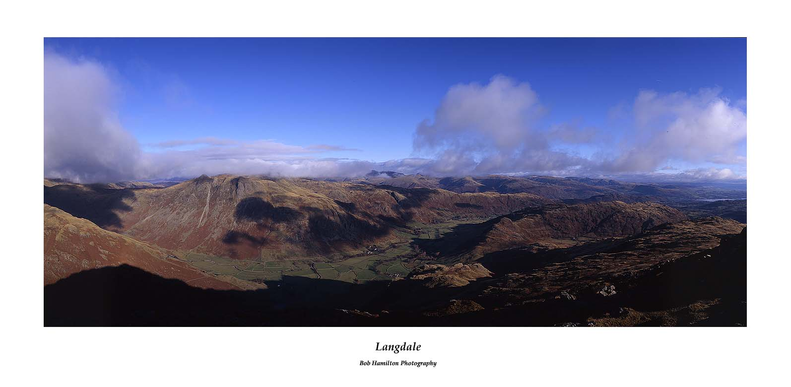 Langdale from Pike O'Blisco