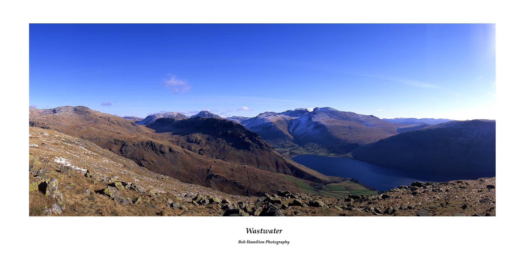Wastwater from Middle Fell