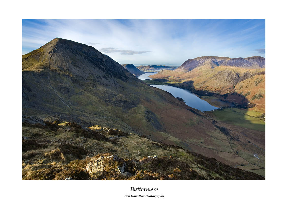High Crag and Buttermere from Haystacks