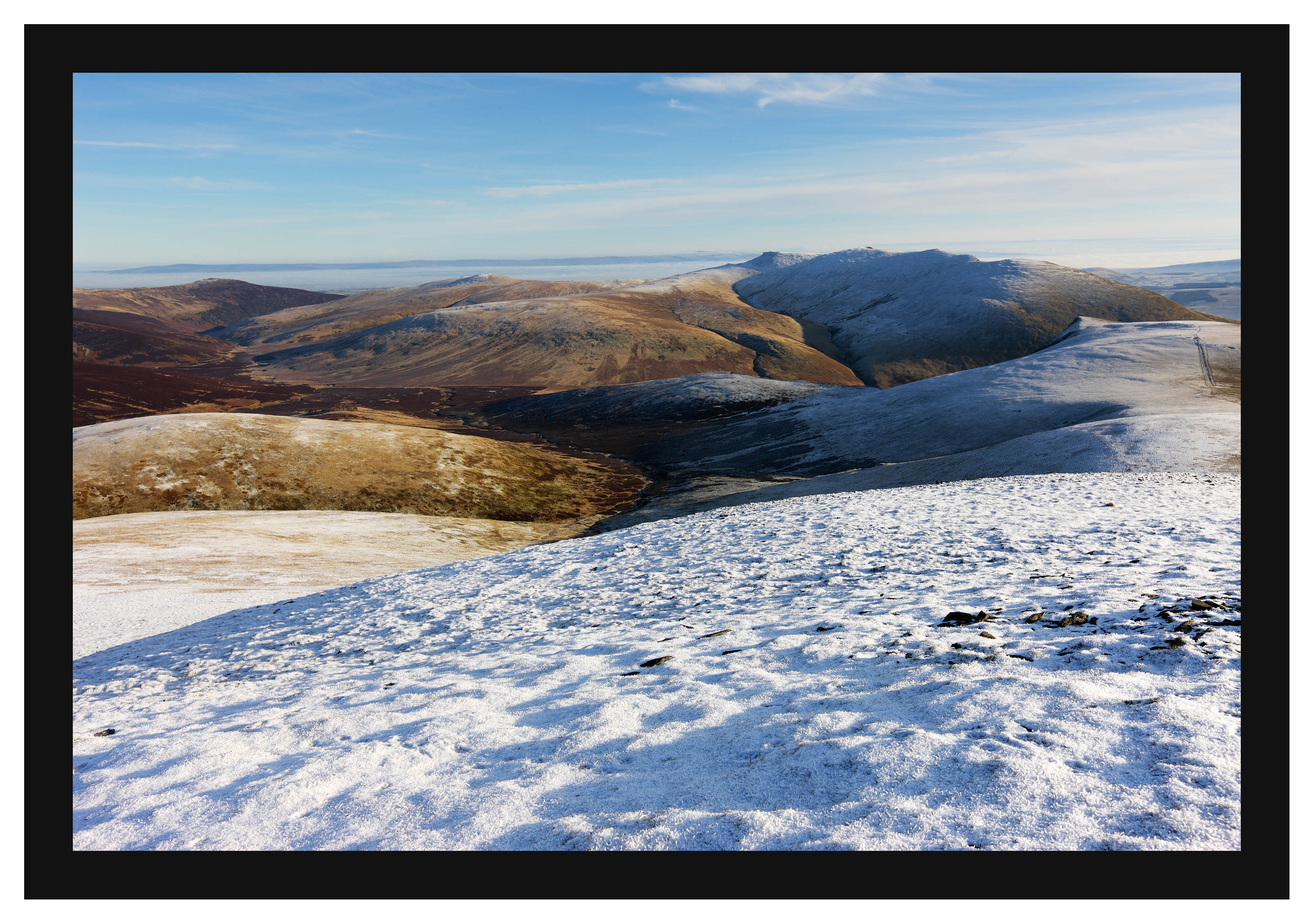 46E7996 Blencathra from Skiddaw Little Man