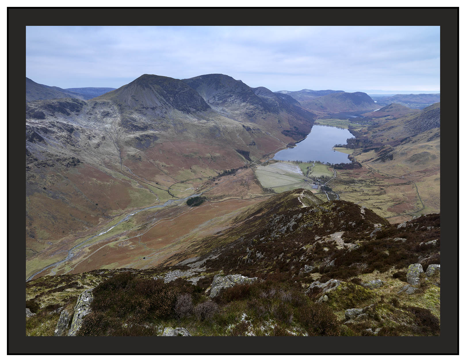 A 00661 High Crag High Stile Red Pike and Buttermere from Fleetwith Pike